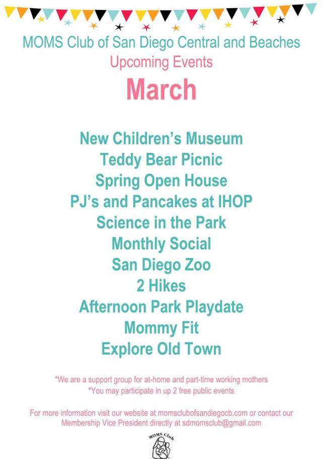 march-upcoming-events